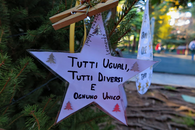 Una stella di saggezza natalizia di -Os-
