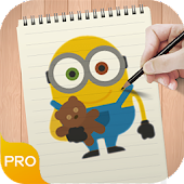 Learn To Draw Minions Pro