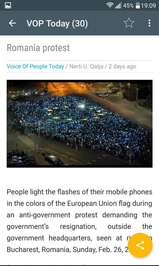 Voice Of People Today- screenshot