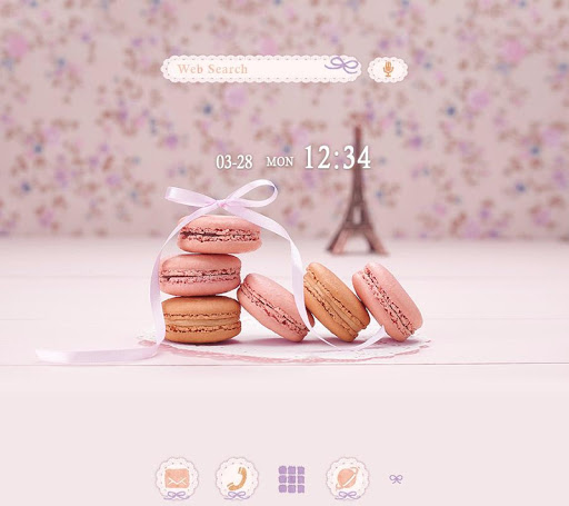 Cute Theme-Parisian Macaroons-