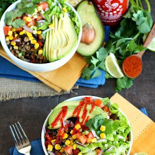The Big Southwest Salad Bowl