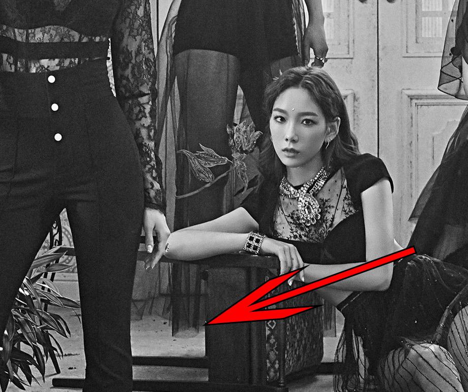 hyoyeon falta pierna snsd