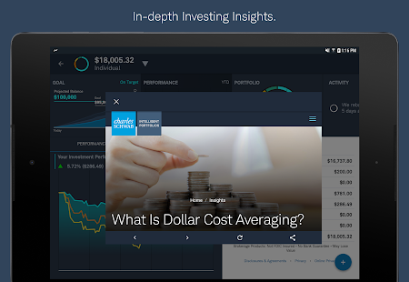 Schwab Intelligent Portfolios- screenshot thumbnail