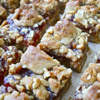 Peanut Butter and Jam Cookie Bars