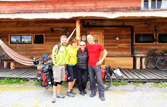 Photo: À Villa O'Higgins, Daniel et Barbara, un couple Suisse qui va dans la même direction que nous, mais plus rapidement!