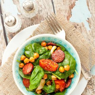 Spiced & Roasted Chickpea Salad