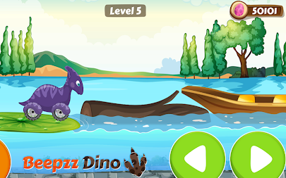 Racing game for Kids - Beepzz Dinosaur APK screenshot thumbnail 5