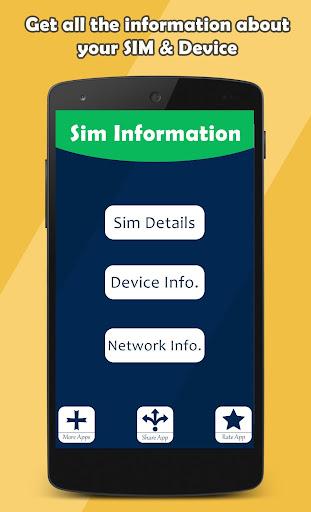 SIM Info - Sim Information