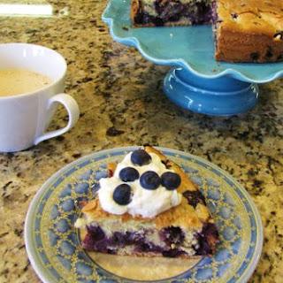 Blueberry Cake. Gateau Aux Bleuets.