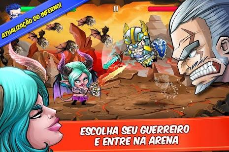 Tiny Gladiators APK + MOD DINHEIRO INFINITO para Android imagem 1