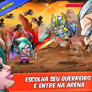 Download Tiny Gladiators v2.0.1 APK MOD DINHEIRO INFINITO - Jogos Android