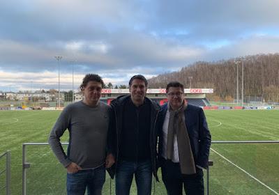 Le Président du FC Liège dévoile le nouveau directeur général du club et évoque le départ d'un joueur