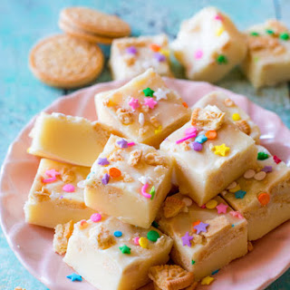 Funfetti Golden Oreo Fudge