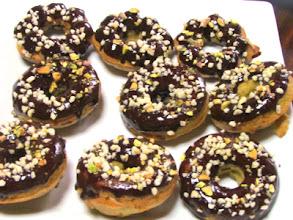 Photo: Chocolate Orange Zucchini Doughnuts