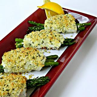 Crispy Asparagus Stuffed Sole