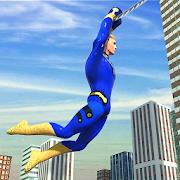 Flying Hero Crime Simulator: Miami Crime City Game