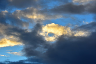 Photo: Sunset Clouds, view from I-5 South (around MP 199)