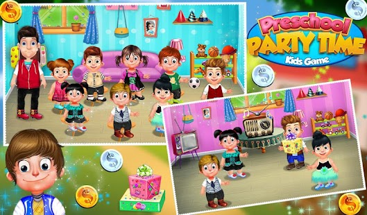 Preschool Party Time Kids Game- screenshot thumbnail