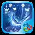Blue Crystal Go Launcher Theme apk
