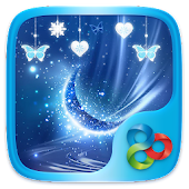 Tải Blue Crystal Go Launcher Theme APK