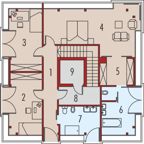 Cube - Rzut piętra