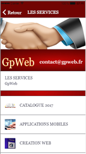 GpWebFR - náhled