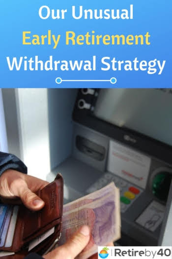Early retirement withdrawal strategy