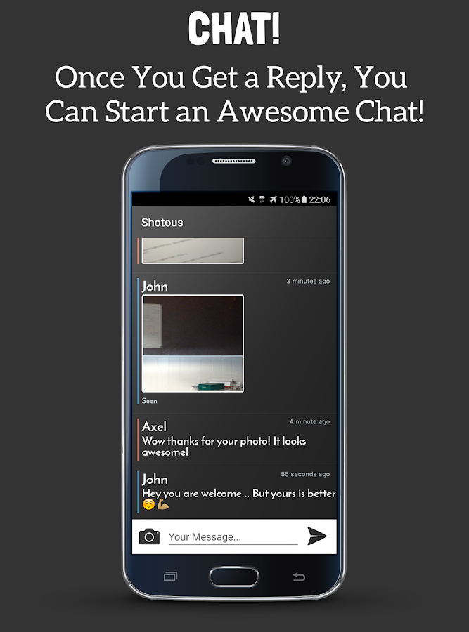 Shotous: Random Chat & Friends- screenshot