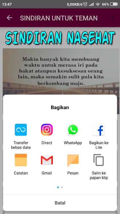 Kata Sindiran Halus Tapi Menyakitkan Android Sovellukset
