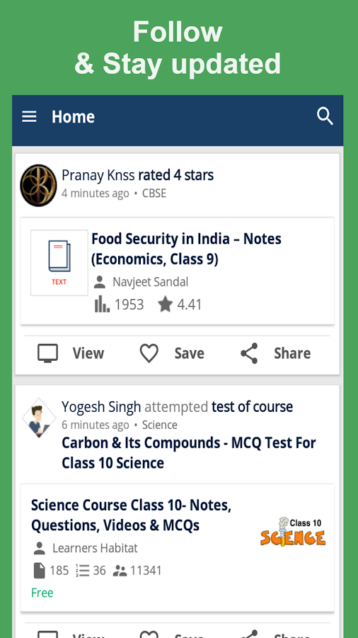 EduRev: CBSE JEE NEET CAT GATE- screenshot