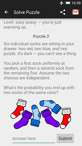 Probability Math Puzzles android2mod screenshots 2