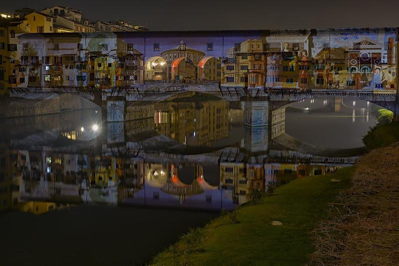 F-light il festival delle luci sul ponte vecchio di Luca160
