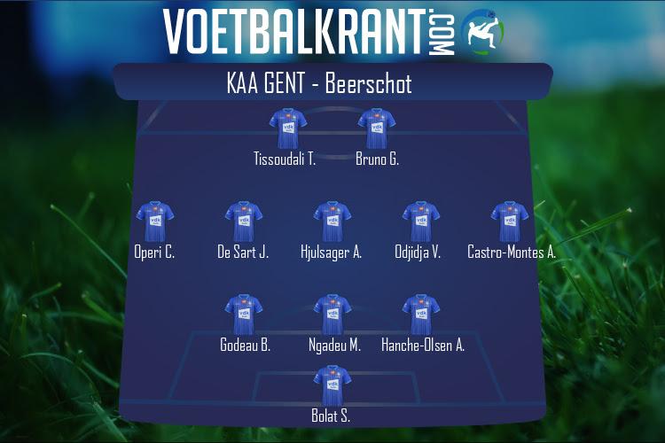 KAA Gent (KAA Gent - Beerschot)