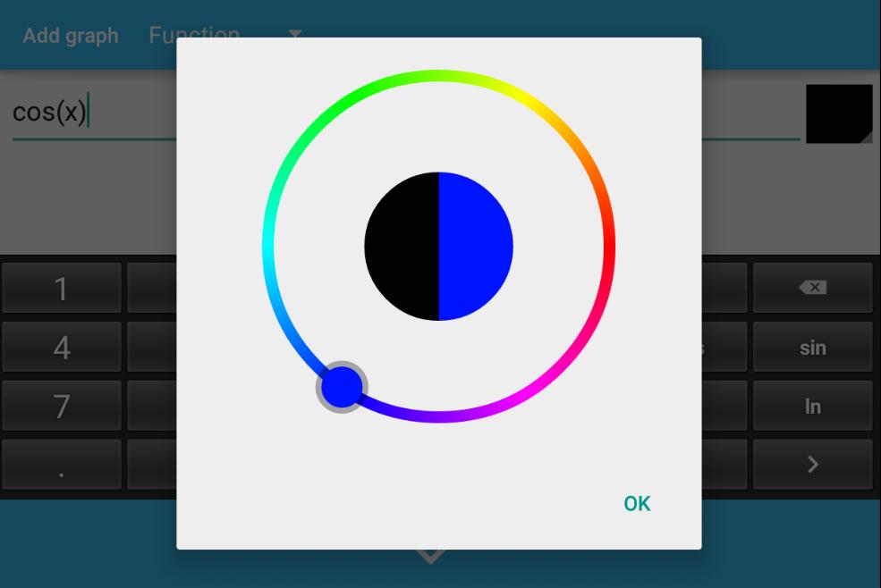 Grapher - graphing calculator- screenshot