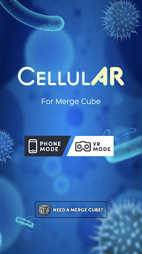 Screenshot for CellulAR for Merge Cube in United States Play Store