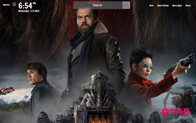 Mortal Engines New Tab Wallpapers