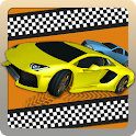 Highway Car Traffic Race - 3D icon
