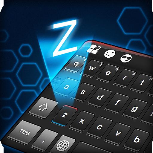 Dark Black Keyboard Theme