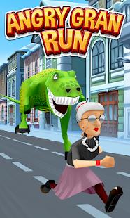 Game Angry Gran Run - Running Game APK for Windows Phone