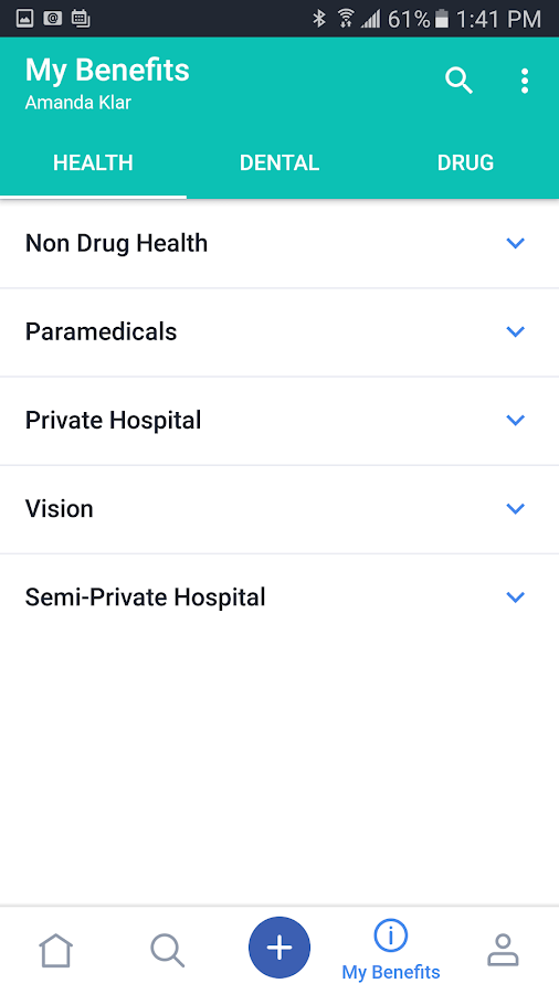Symbility Health Mobile Claims- screenshot