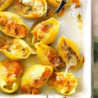Thanksgiving Stuffed Shells