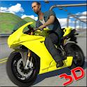 corridas de moto rápido icon