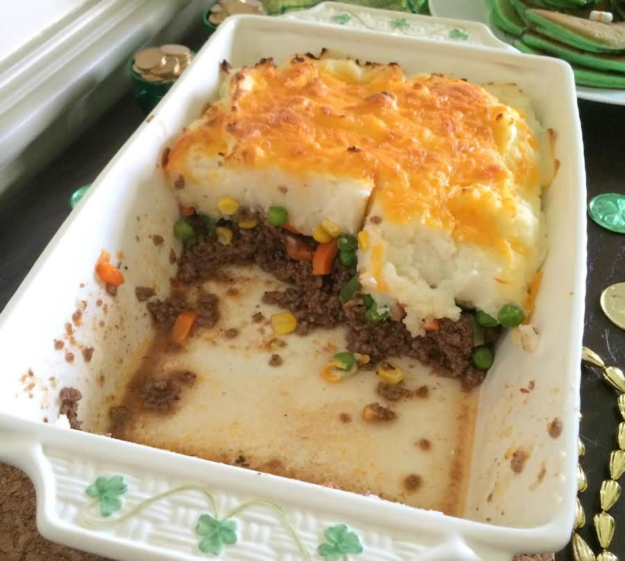 Easy Shepherd's Pie Wground Turkey Recipe