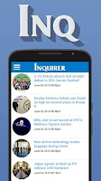 Screenshot of Inquirer Mobile