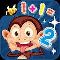 math jungle:monkey go icon