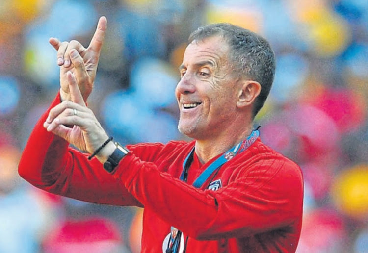 Home truths: Orlando Pirates coach Milutin Sredojevic is concerned his team has been held to four draws on their own familiar turf. Picture: SYDNEY MAHLANGU/BACKPAGEPIX