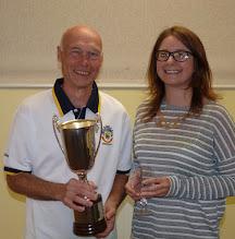 Photo: Brian Perryman Club Singles Champion