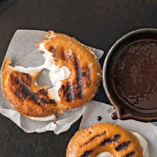 Grilled S'mores Doughnuts.