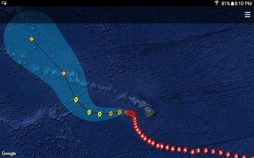 Hurricane Sentinel screenshot for Android
