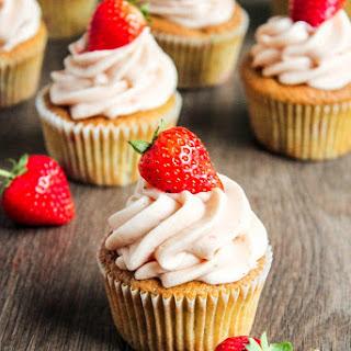 Strawberry Basil Cupcakes Recipe